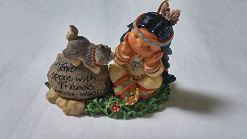 Friends Of The Feather Time Spent With Friends Is Never Wasted Figurine, Native American