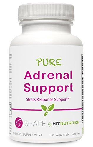 Nombre d'accès forme Pure soutien surrénalienne supplément, Stress Response System, 60