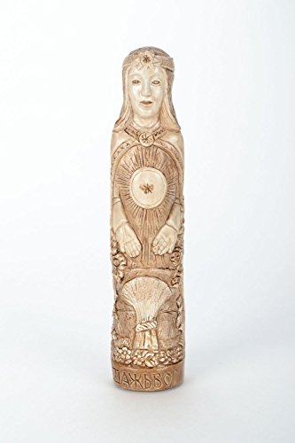 Plaster Handmade Statuette of Dazhbog Home Design Ideas