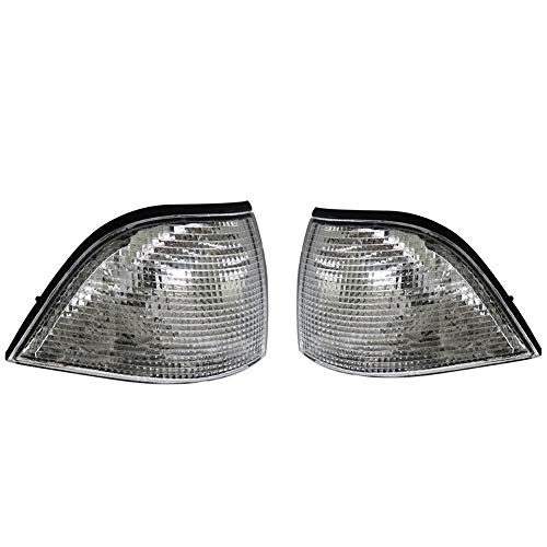 Ancher Turn Signal Corner Signal Light fit for 93-98 BMW E36 3 Series 2D Coupe/Convertible -