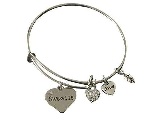 Sweet 16 Bracelet- Sweet 16 Jewelry - Sweet Sixteen Gift- Perfect Birthday Gift For - Birthday 16th Presents