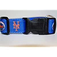 New York Mets Collar | Baseball Dog Collar | Mets Dog Collar | MLB Dog Collar | Adjustable Dog Collar | Sport Dog Collars | Dogs