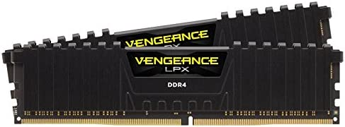 Corsair Vengeance LPX 16 GB, DDR4, 2666 MHz 16GB DDR4 2666MHz módulo de - Memoria (DDR4, 2666 MHz, 16 GB, 2 x 8 GB, DDR4, 2666 MHz, 288-pin DIMM, Negro)