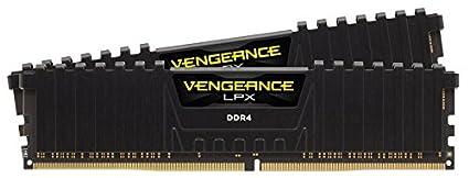 Corsair Cmk16 Gx4 M2 D3200 C16 Vengeance Lpx 16 Gb (2 X 8 Gb) Ddr4 3000 M Hz C15 Xmp 2.0 High Performance Desktop Memory Kit   Black by Amazon