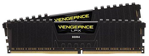 Corsair Vengeance LPX 16GB (2 x 8GB) DDR4 DRAM 3600MHz (PC4-28800) C18 Kit, Black