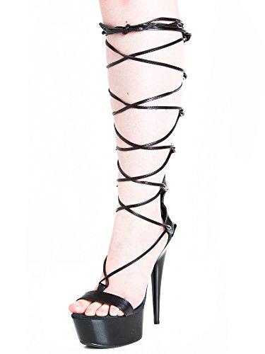 Liberty Platform Killer Noir Lace Heels UHUqxBP