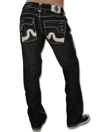 LAGUNA BEACH JEANS CO. Herren Jeans Hose - SUNSET BEACH -32
