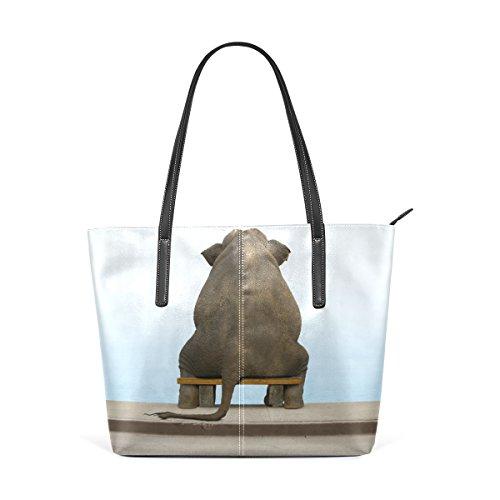 À tout Ours Et Fourre Multicolore Femme Cuir Sacs Animal Bandoulière Unique En Écologique Oiseau Environt Pour Deyya Wo Taille Main nqI4E66