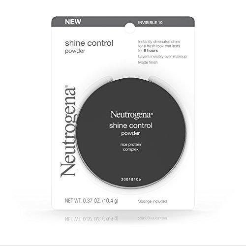 Neutrogena Shine Control Powder, Invisible 10,.37 Oz. (Pack of 2)
