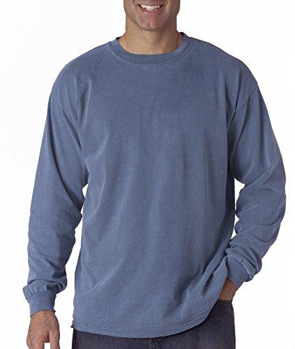 Comfort Colors Men's Ringspun Garment-Dyed Long-Sleeve