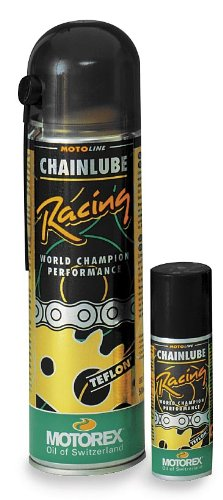 Motorex Racing Chain Lube Spray - 500ml. VOC Compliant 621-051
