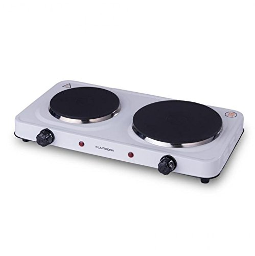 Small Electric Cooker Hob 2 Ring Table Mini Double Hot Plates Kitchen Cooking UK