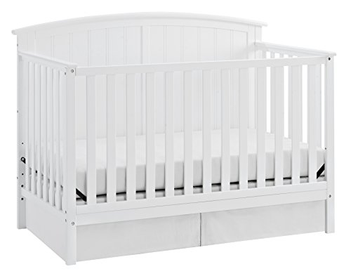 Storkcraft Steveston 4-in-1 Convertible Crib, (Storkcraft Wood Crib)