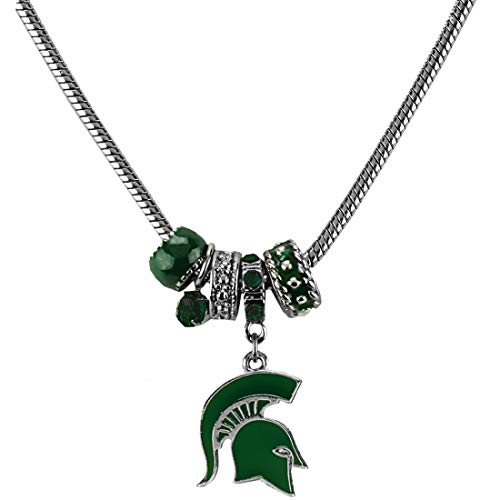 SANDOL Michigan State MVP Charm Necklace
