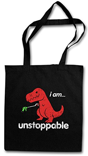 I AM UNSTOPPABLE HIPSTER BAG – Dinosauro Tyrannosaurus Rex T-Rex Dino Dinosaur Fun Monster Bambi Killed Nerd Who Joke Comedy Nerd Hipster Indie