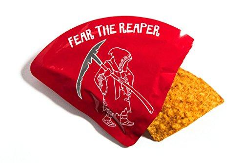 amazoncom paqui carolina reaper madness one chip challenge tortilla chip