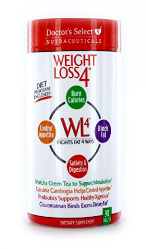 Doctor's Select Weight Loss 4 Tablets, 90 Count (Doctors Select Weight Loss 4 With Garcinia Cambogia)