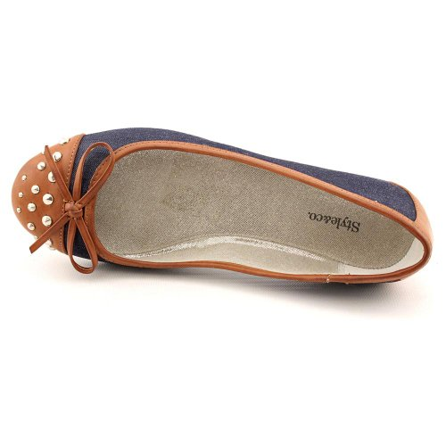 Style & Co Ingrid Womens Blue Flats Shoes Us 6