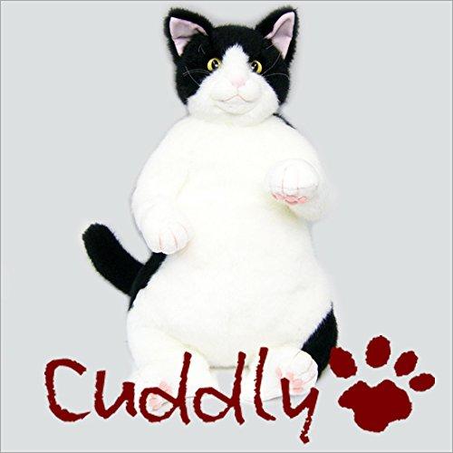 【初回限定】 <Cuddly>カドリー こだわりのぬいぐるみ ハチワレ 白黒 猫のヌイグルミ 白黒 タマ子 猫のヌイグルミ (tamako) ハチワレ B07CQQBVXC, 仁摩町:2490d75c --- senas.4x4.lt
