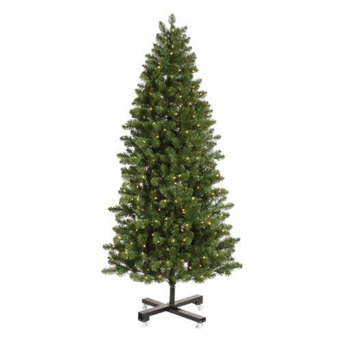 Slim Grand Teton Pre-Lit LED Christmas Tree