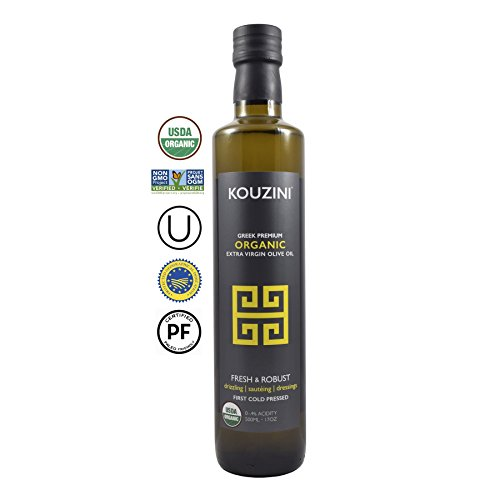 a Premium Extra Virgin Greek Olive Oil (500ML Bottle) | Current year harvest 2017/2018 (Olive Oil 500ml Bottle)