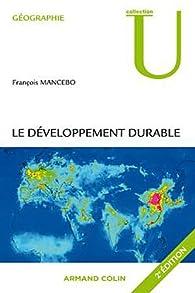 Le développement durable par François Mancebo
