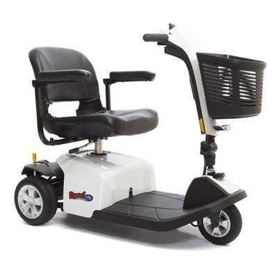 Rascal 3 Wheel Scooter Color: White