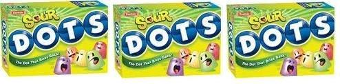 Sour Dots Candy (7 oz Boxes) 3 Pack