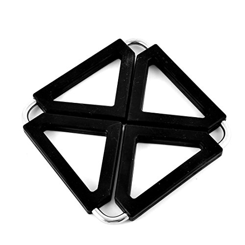 uxcell Square Expandable Protector Trivet