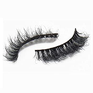 13d09d5a4b9 Luxury hand-made horse hair false eyelashes natural realistic cross section  horse fake eyelashes Feel