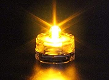 COOLMP - 1 Vela LED Sumergible Amarilla - Juguete, Disfraz y ...