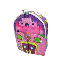 Neat-Oh! NTO A1386X2 Zipbin Doll House Bring-Along Backpack, Colors and Styles of Doll May Vary