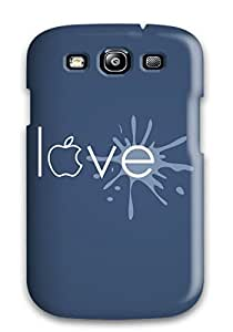BayyKck Fashion Protective Happy Love For Case Samsung Galaxy S5 Cover