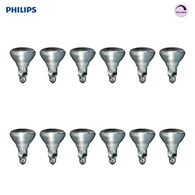 Philips LED Soft White 65-Watt Br30 Indoor Flood Light Bulb