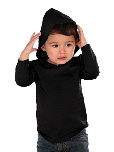 Unisex Black Hoodie - 1