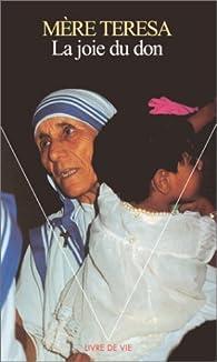 La Joie du don par Mère Teresa