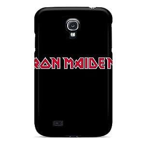 For Galaxy S4 Protector Case Iron Maiden Plain Logo Phone Cover