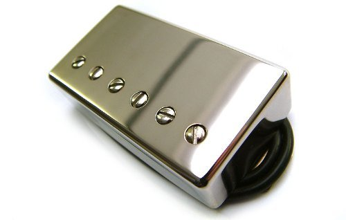 Tonerider Humbucker Pickup: Alnico IV PAF (AC4) Humbucking Pickup Bridge Nickel by Tonerider