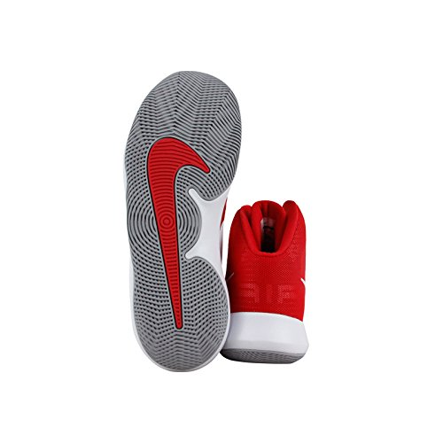 Nike NIKE AIR PRECISION - Zapatillas deportivas, Hombre, Rojo - (University Red/White-Wolf Grey)