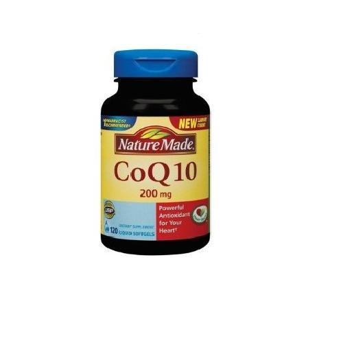 ネイチャーメイドコエンザイムQ10 、 200mgの、 120カウント Nature Made Coenzyme Q10 NATUREMADE (Nature Made) , 200mg , 120 count B004M7ZIC2
