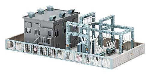 TOMIX N게이지 변전소 키트 타입 그레이 4223 철도 모형 용품