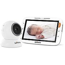 Levana Alexa LCD Baby Monitor, 5 Inch