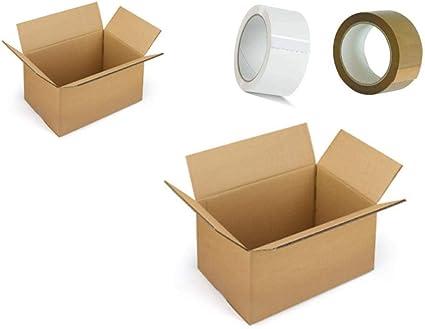 10 50x35x30 Kit Scatola Per Imballaggio Spedizione Trasloco