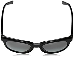 DKNY Women's Acetate Woman Round Sunglasses, Black, 53 mm