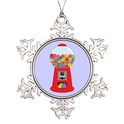 Valerie Personalised Christmas Tree Decoration Gumball Machine Pictures of Christmas Snowflake Ornaments - Frog Gumball Machine
