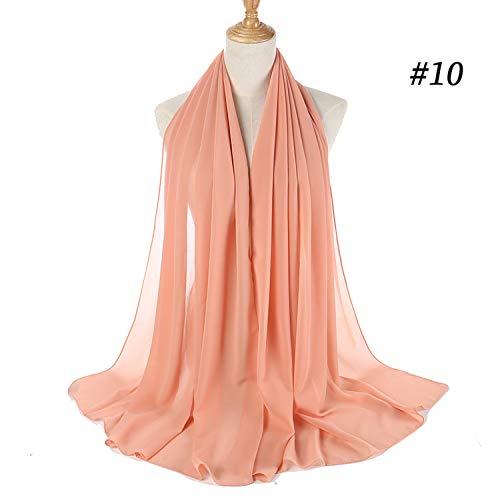 2de885a43fe25 ... women plain bubble chiffon scarf hijab wrap printe solid color shawls  scarves/scarf 47 colors ...