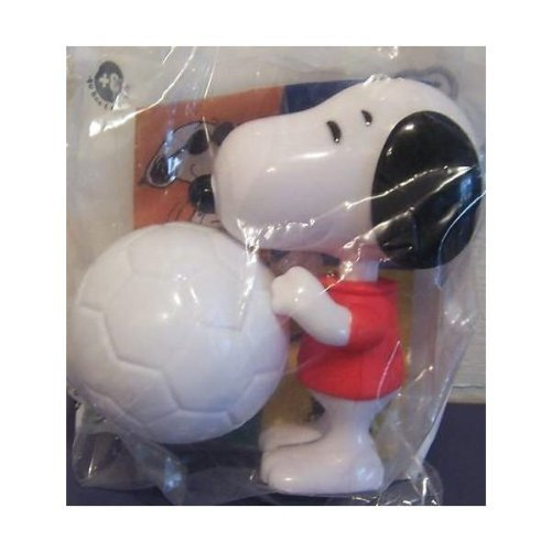 Burger King 2007 Peanuts Snoopy Soccer Player w Ball - Kicks! by Burger King
