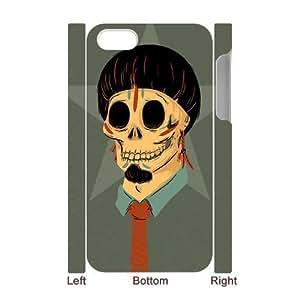 3D Bumper Plastic Case Of Skull customized case For Iphone 4/4s