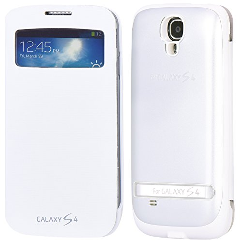 baidatong-029-power-case-for-9500-s4-battey-case-for-galaxy-s4-belt-leather-white