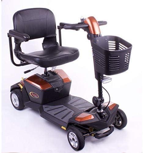 CHAIR Silla de ruedas, silla de rehabilitación médica para personas mayores, personas mayores, orgullo Mobility Apex Rapid Mobility Scooter Compact Travel Power Scooter Scooter portátil de movilidad